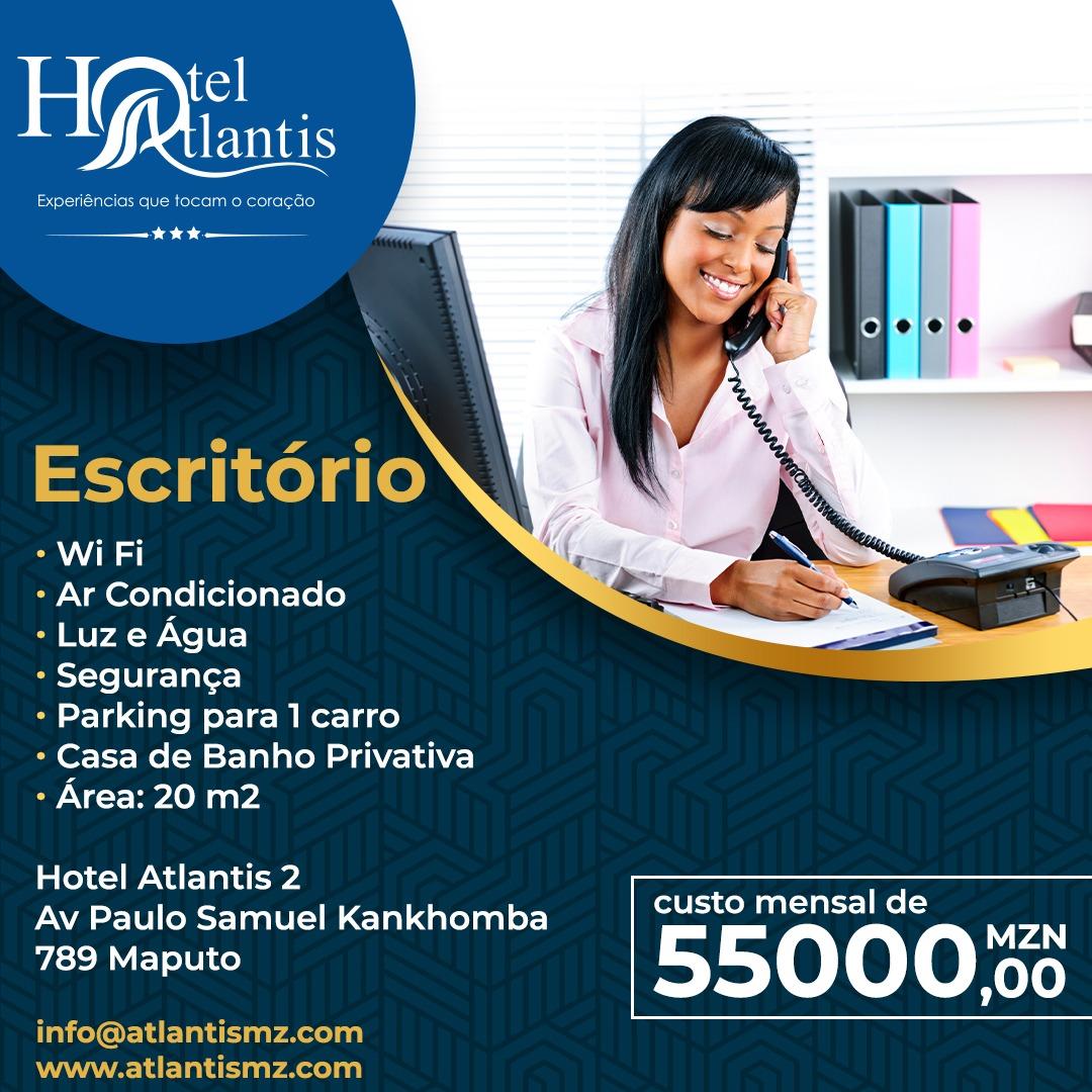 Promoção do hotel atlantis